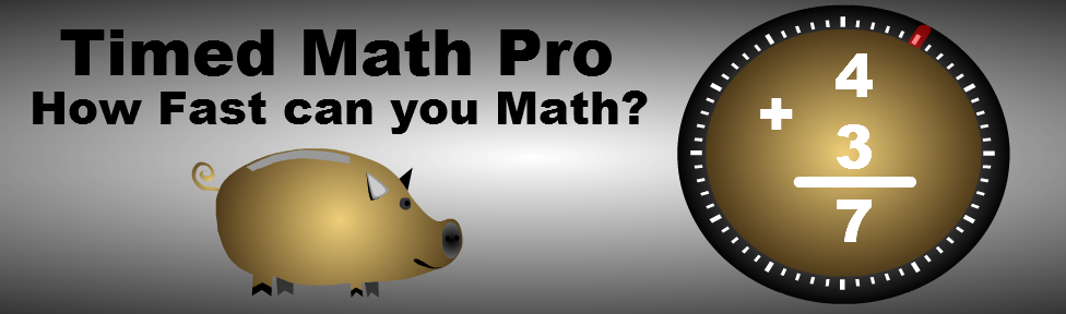 Timed Math Pro for iTouch, iPhone, and iPad